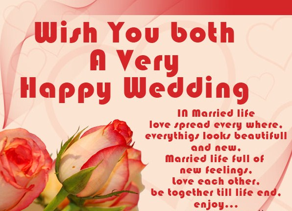 Most Amazing Wedding Wishes