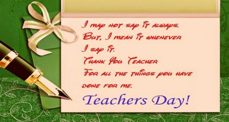 Best Wishes For Teacher
