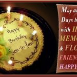 Famous Birthday Wishes And Greetings For Son In Law