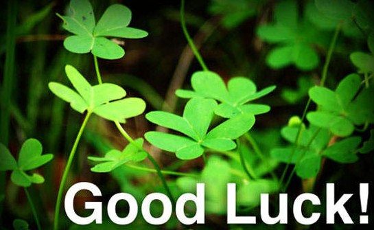 New Good Luck Wishes 2016