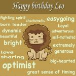 Leo Birthday Wishes And Quotes