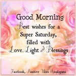 Saturday Wishes And Greetings