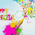Happy holi wishes and greetings 2018