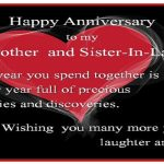 Anniversary Wishes For Brother Or Sister In Law