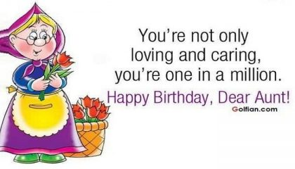 50 Best Birthday Wishes For Aunty