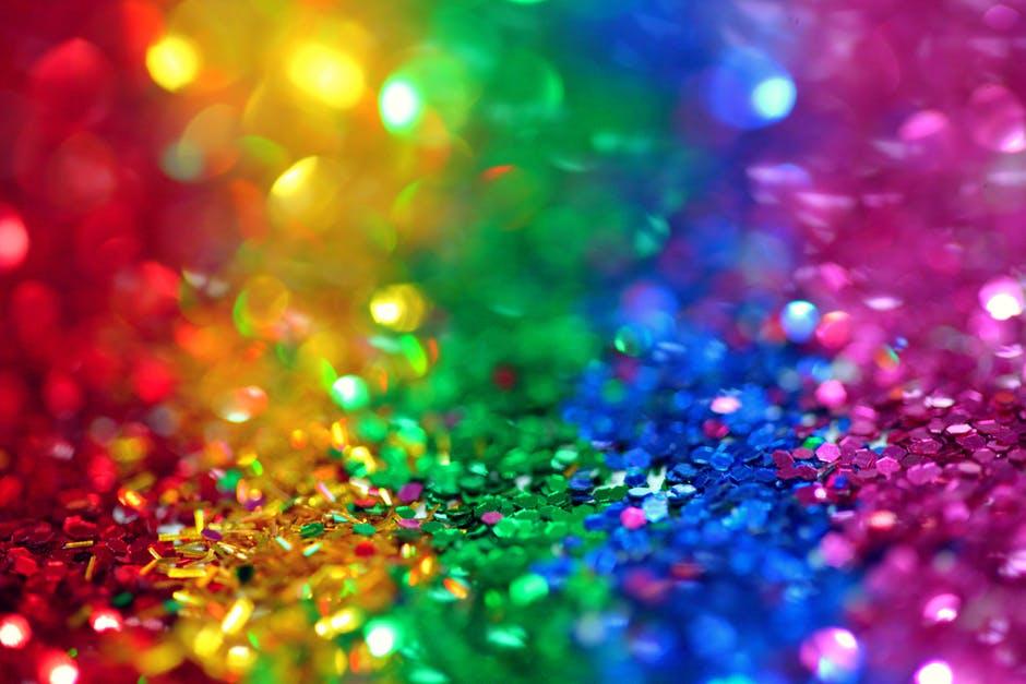 birthday party glitter