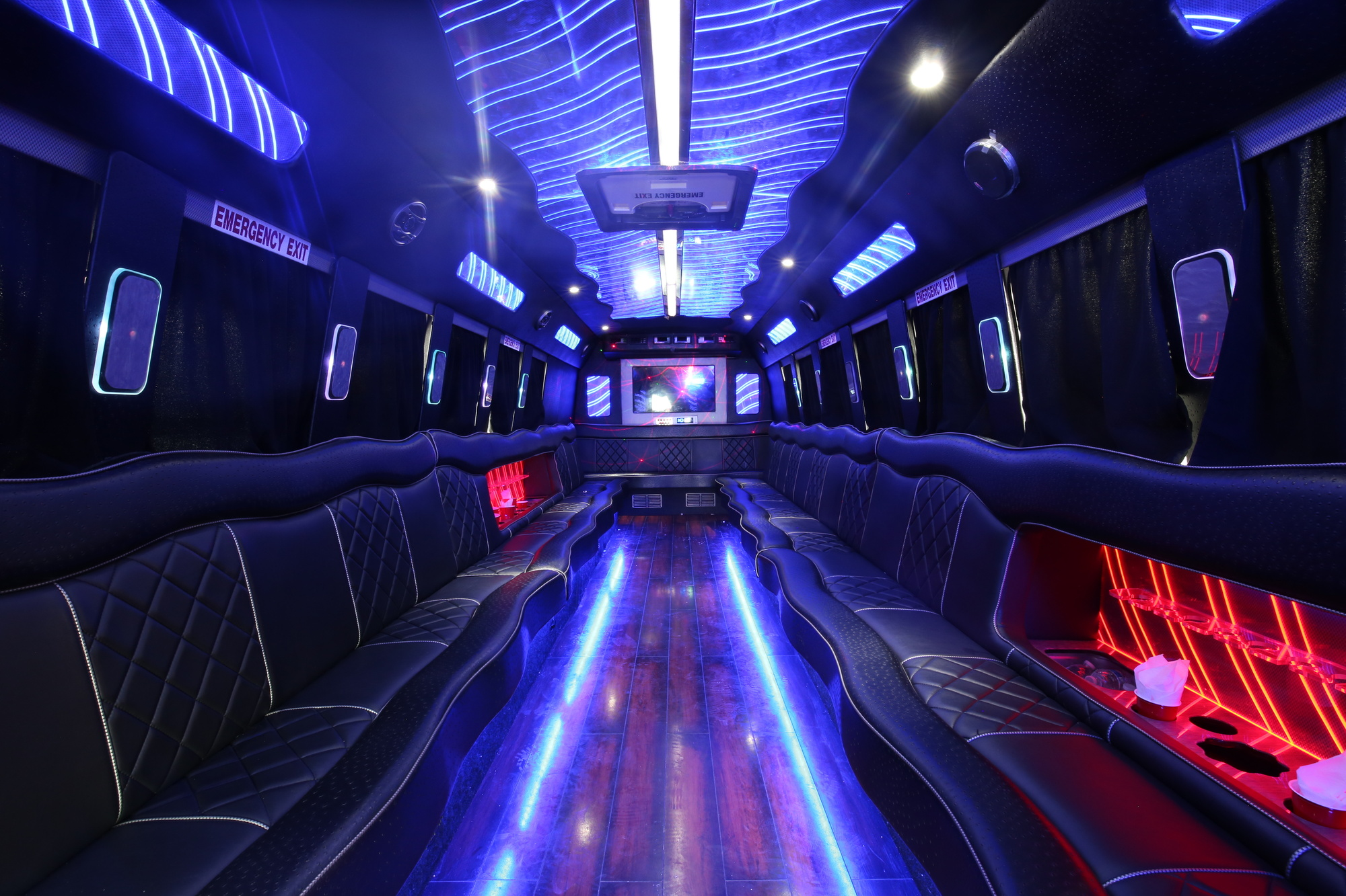 party bus inside
