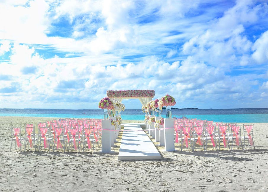 Hawaiian Wedding Set-up