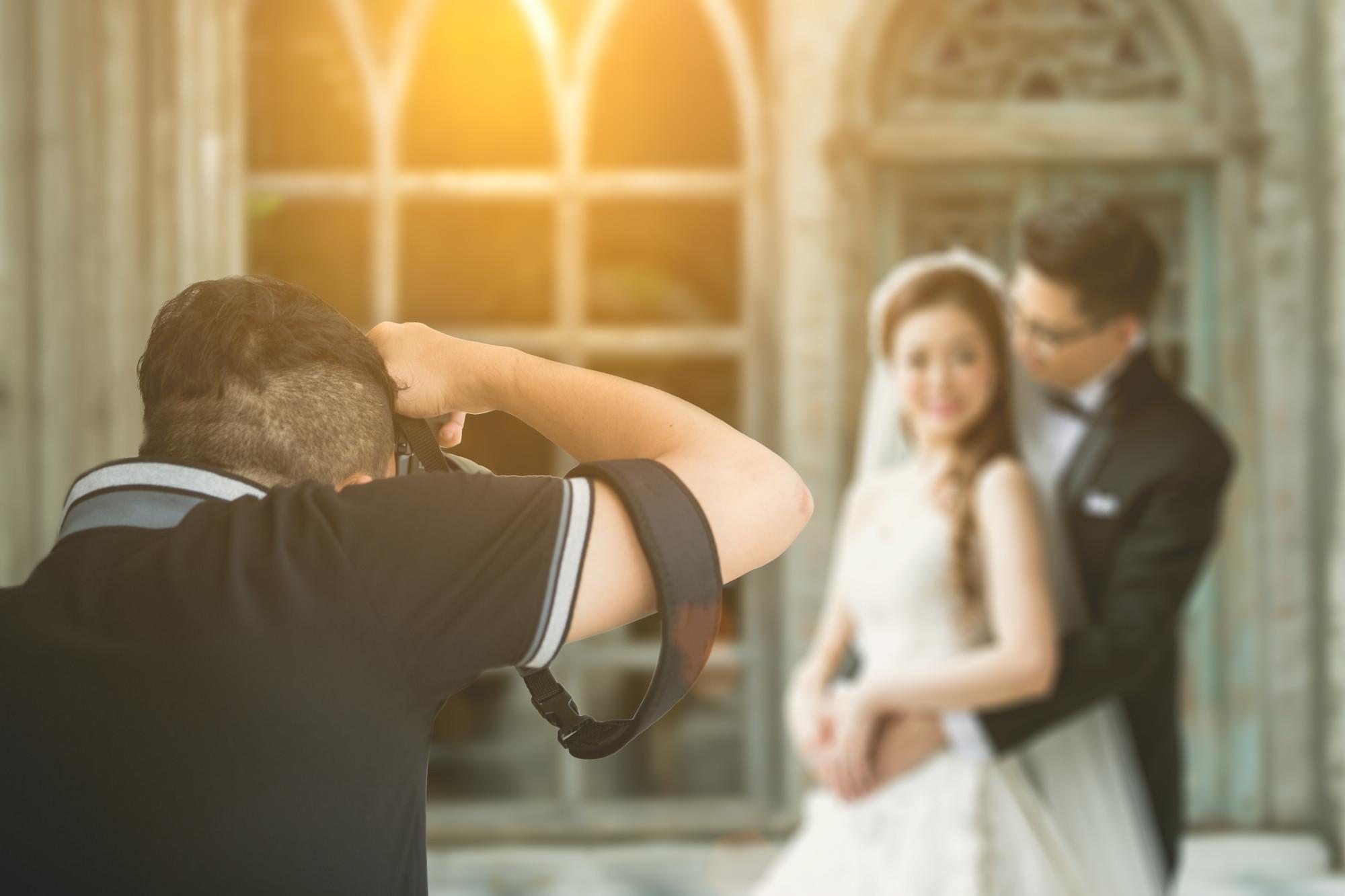 Wedding Photographer Newlywed Couple